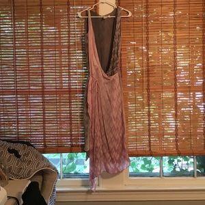 Anthro wrap dress