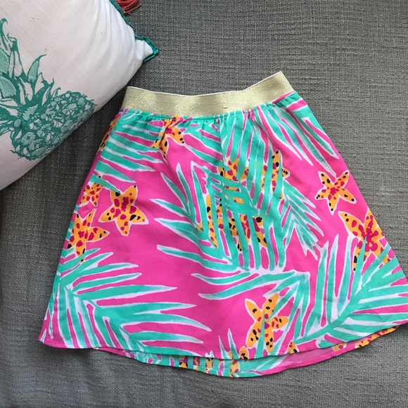Lilly Pulitzer Dresses & Skirts - Lilly Pulitzer skirt starfish palms