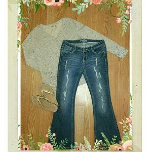 Reign Denim - Reign Curvy Boot Cut Jeans