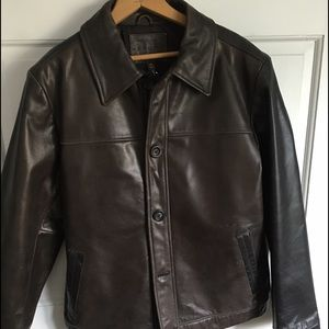 Other - Mens leather jacket