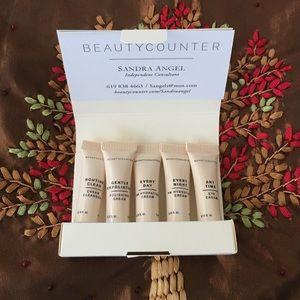 BeautyCounter sample pack.