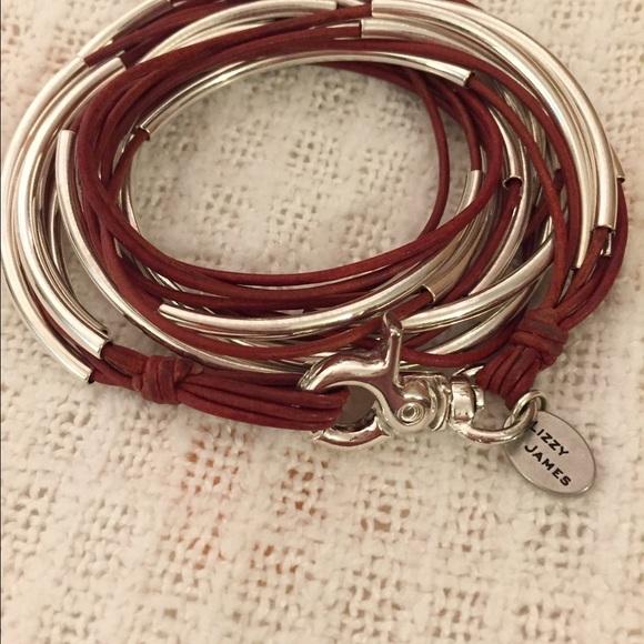 Lizzy james jewelry classic wrap bracelet poshmark for Who sells lizzy james jewelry