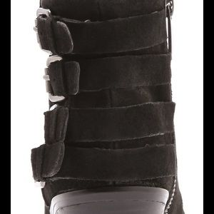 6a74bc0854318 Sam Edelman Shoes - Sam Edelman Lucca 4 Buckle Booties