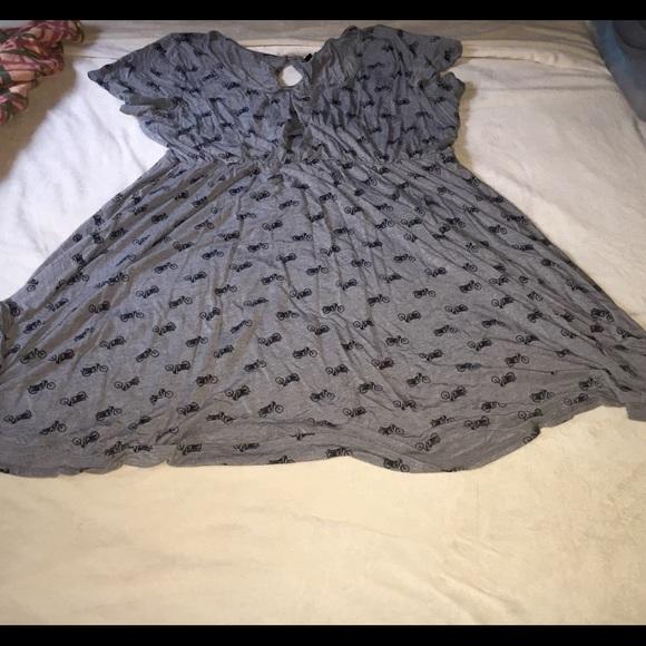 15a4c907c85e Torrid adorable motorcycle print dress. M 575e21c2620ff777cf0176e2