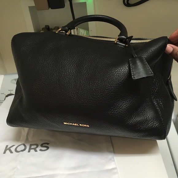 57% off Michael Kors Handbags - Michael Kors large Kirby black ...