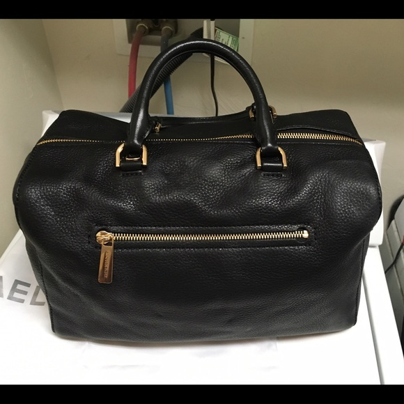 57% off Michael Kors Handbags - Michael Kors large Kirby black ...