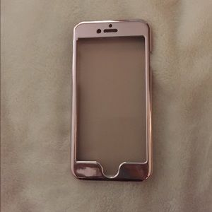 H&M Accessories - NWOT rose gold iPhone 6/6s case
