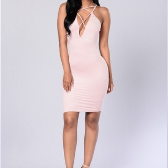 38% Off Fashion Nova Dresses U0026 Skirts - Pink Suede Dress From Laurau0026#39;s Closet On Poshmark
