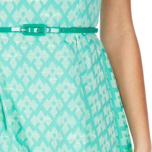 Oasis Dresses - REDUCED 🎉 Mint Jacquard Skater Dress