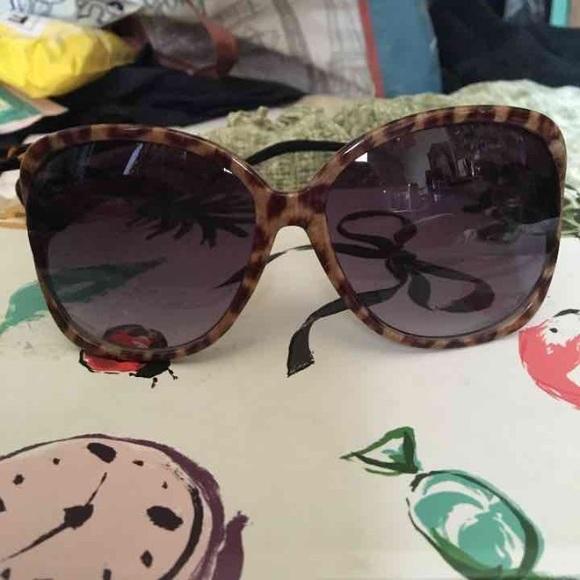 1873f18d74a1 NWOT Oversized Boho Cheetah Print Sunglasses