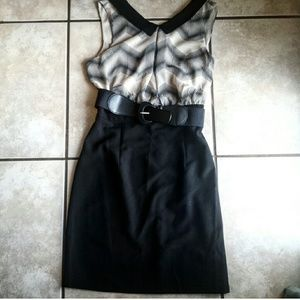 Amy Byer Dresses & Skirts - NWT Blouson Belted Dress