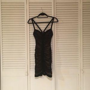 BCBGMaxAzria Dresses & Skirts - BCBG MaxAzria Black Cocktail Dress
