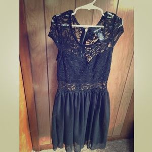 Brand new Wet Seal lace midi dress