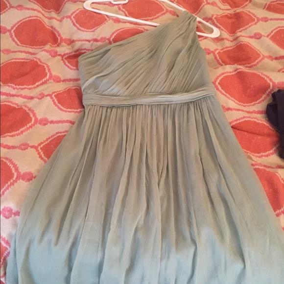 1b7519d44cb J crew Dresses   Skirts - J crew Kylie bridesmaid dress in dusty shale