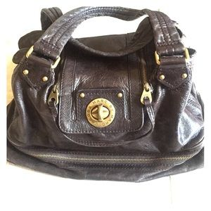 Leather Marc Jacobs satchel
