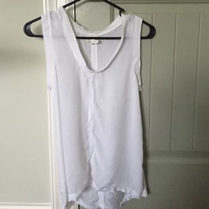 Cloth and stone tank top