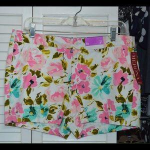 Merona Shorts - Merona floral shorts from Target