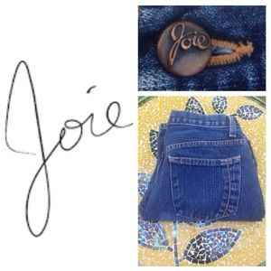 Joie Denim - LIKE NEW! Joie relaxed crop jeans in med-blue (29)