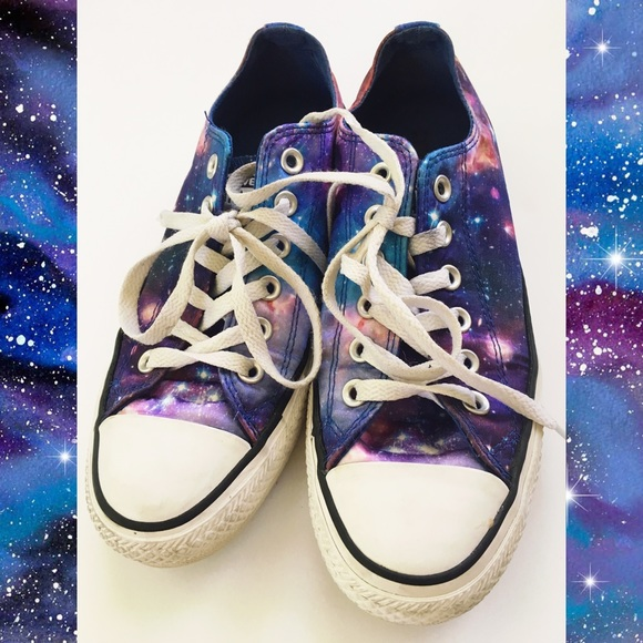 7b76533c78958c Converse Shoes - Converse - cosmic Galaxy purple all stars