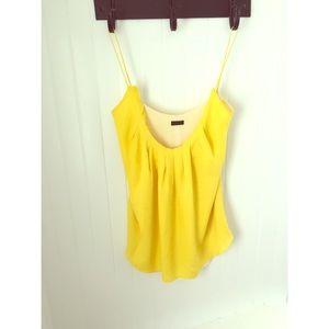 Wren Tops - Yellow silk Wren top size medium