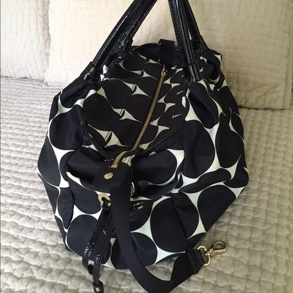 84 off kate spade handbags kate spade baby bag zip closure stroller. Black Bedroom Furniture Sets. Home Design Ideas