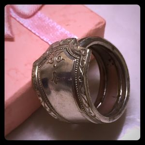 Jewelry - Vintage Silver spoon ring