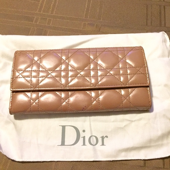 6fe179a02bc7 Dior Handbags - Dior cannage wallet rendezvous patent leather