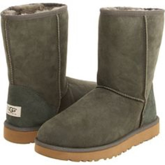 forest green short uggs