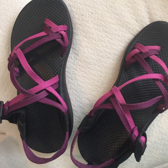 b46a392c1c5e Chaco Shoes - Purple two strap Chacos