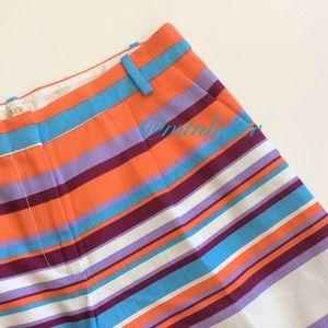 J. Crew Pants - J Crew Striped Shorts NWT 🎉HP🎉