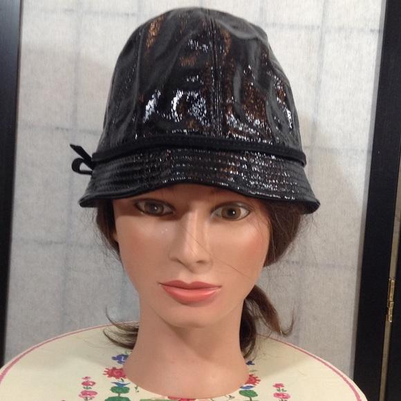 Coach Accessories -   ⬇️Coach black patent leather bucket hat d1a5fea9b71