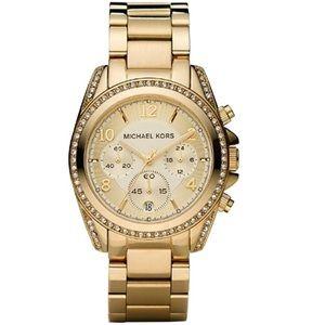 Michael Kors Accessories - Michael Kors gold watch 🔴final price⬇️