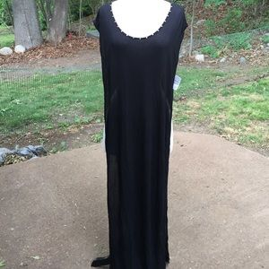Stella & Jamie Other - Neiman Marcus black beach cover-up size M