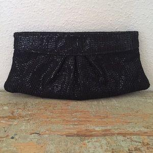 Lauren Merkin Handbags - 💫Lauren Merkin black sequined clutch