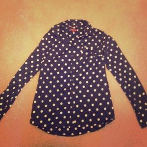 Cute Merona polka dot blouse