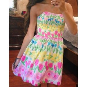 lilly pulitzer floral dress 🌸