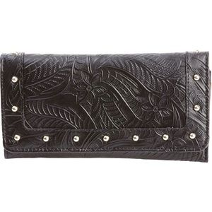 Casual Outfitters Handbags - Ladies' Solid Genuine Leather Wallet