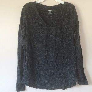 Tops - Old navy mixed gray long sleeve (size xs)