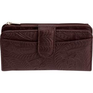 Casual Outfitters Handbags - Brown Solid Genuine Leather Ladies' Wallet