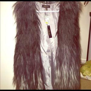Melissa Masse Jackets & Blazers - Ombre Fur Vest