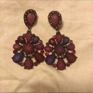Gorgeous Colored Stone Earrings