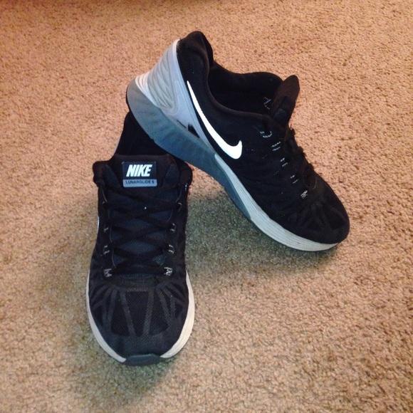 Nike Lunarglide 6 Mens Blanco Y Negro QmVKIyJR