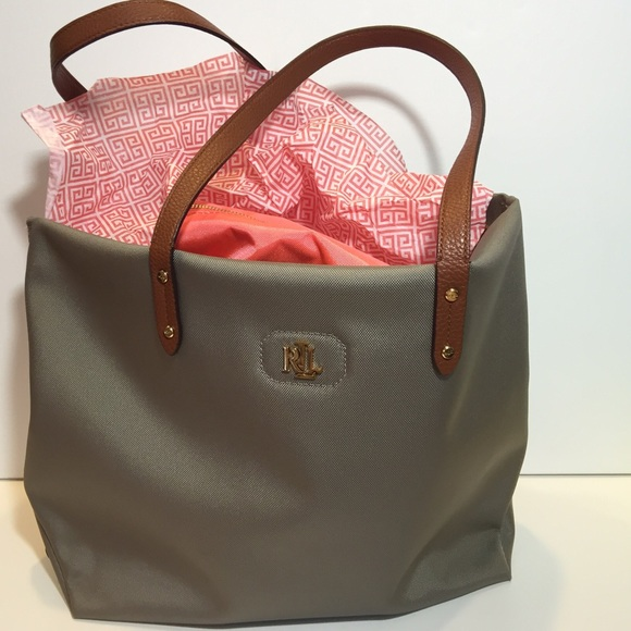e034ad523d9f Ralph Lauren Bainbridge Nylon Shopper. M 575f6bd599086a637304b425