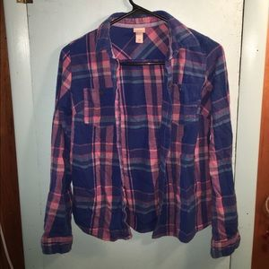 33 Off Mossimo Supply Co Tops Green Flannel Shirt From