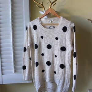  Polka Dot Sweater