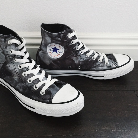a99e77ece67d Converse Shoes - CONVERSE All Star Hi Black Tie Dye