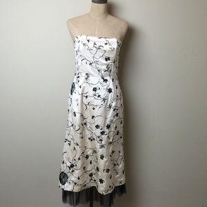Tibi Dresses & Skirts - Fabulous TIBI cotton silk embroidered midi dress