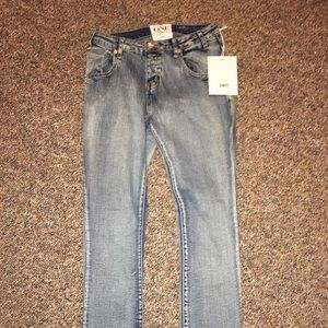 One Teaspoon Pheonix Yardbirds Skinny Jeans