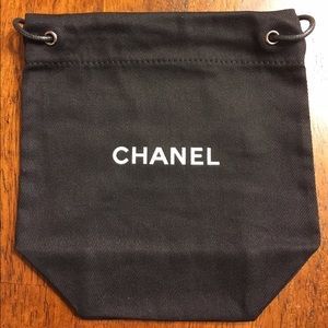 Price reduced Chanel accessories dust bag.