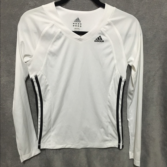 Adidas Tops - Adidas dri fit women s long sleeve 6bc58fd25ed5